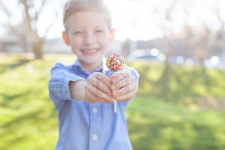 boy and easter theme