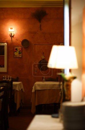 Romantic italian restaurant