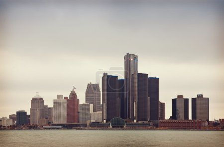 Darkly Detroit in the Fall