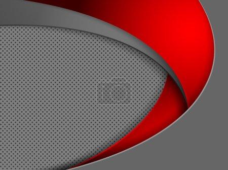 Illustration pour Fond vectoriel abstrait avec espace de copie. Eps10 - image libre de droit
