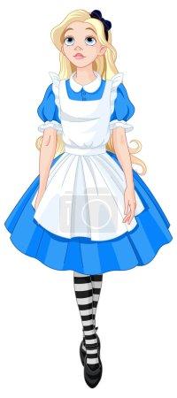Beautiful Alice from Wonderland