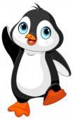 Dancing baby penguin