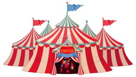 retro circus marquee