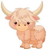 cute baby yak