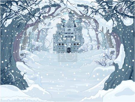 Winter Princess Castle