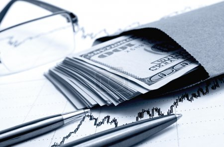 Financial forecasts on the stock exchanges.