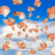 Russian money falling from the sky....