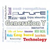 Generation Y infographics