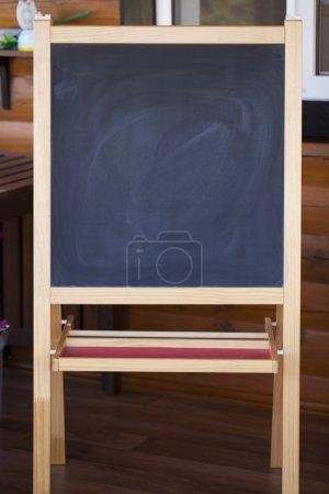 School board for chalk drawing