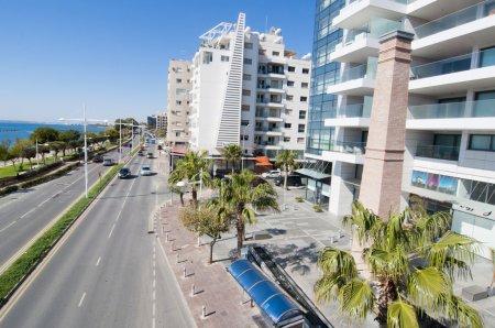 Coastline of Limassol, Cyprus