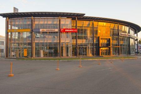 Mercedes benz center in Kiev
