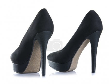 Black high heel  shoes