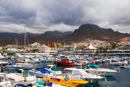 Port in Tenerife island - Canary