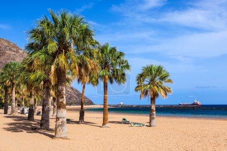 Photo pour Plage Teresitas à Tenerife - Îles Canaries Espagne - image libre de droit