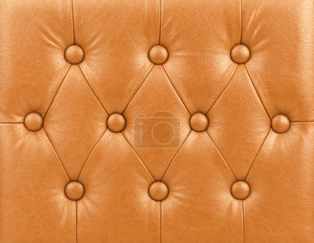 Luxury orange leather background
