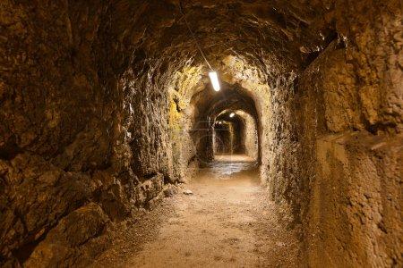 Secret tunnel in Castle Kufstein - Austria
