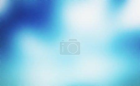 Blured blue background