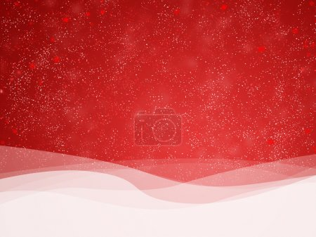 Photo for Red defocused lights background. abstract bokeh lights - Royalty Free Image