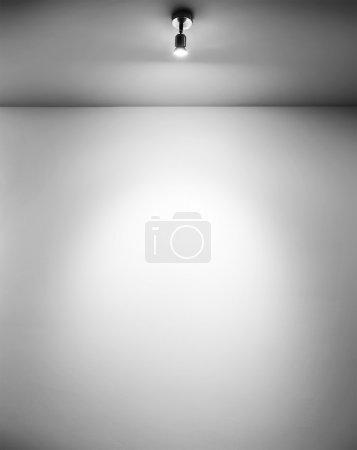 One spotlight shine
