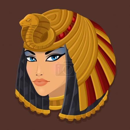 Icon portrait Cleopatra