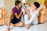 Malý rodinný a pes