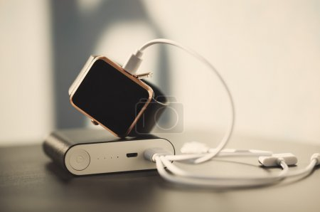 Power bank charging smart watch with energy