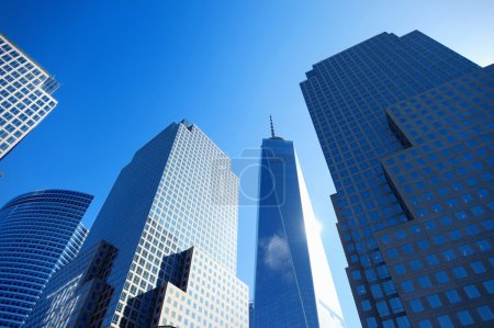 Skyscrapers in downtown of New York