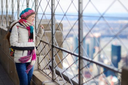 tourist enjoying the view of New York