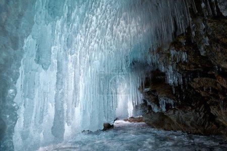 Ice cave on Baikal lake