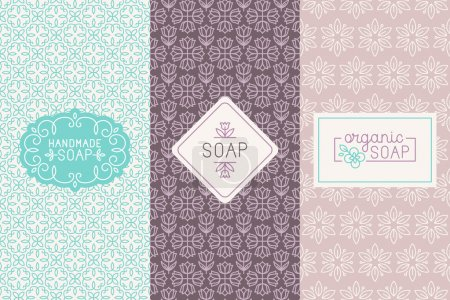 Hand made soap packaging and wrapping paper