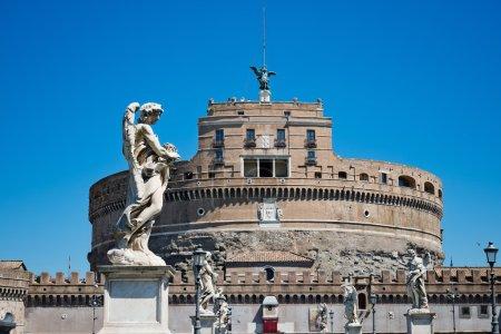 Castel Sant'angelo and Bernini's statue, Rome