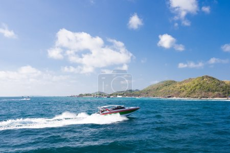 Speed boat to Thailand