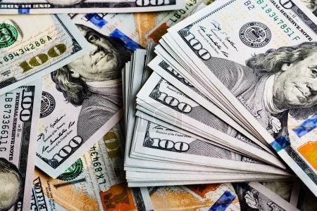 Background with money bills