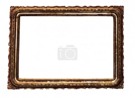 Antique wooden frame