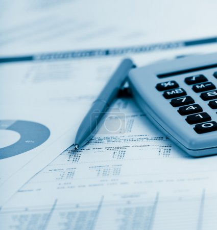 Financial accounting objects