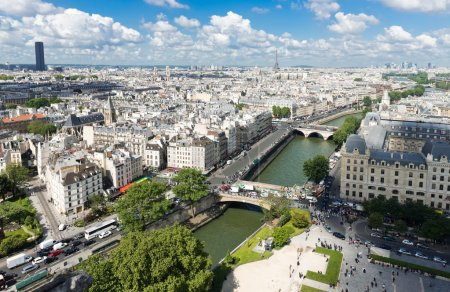 Paris form Notre Dame
