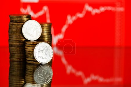 Rate of the Russian rouble
