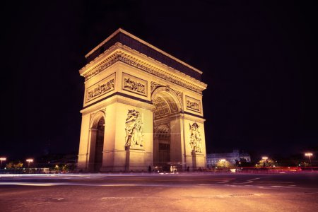 Photo for Arc de Triomphe Paris city  - Arch of Triumph - Royalty Free Image