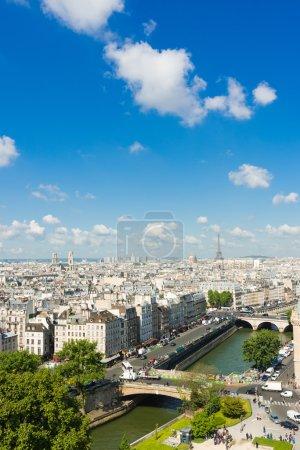 Paris form Notre Dame cathedral