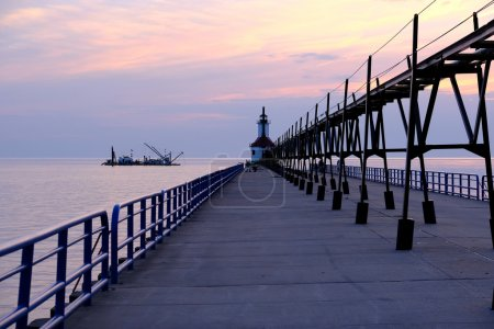 St. Joseph North Pier Lights