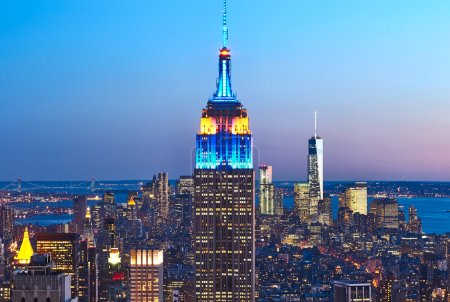 Manhattan with Empire State Building