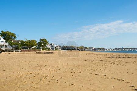 Foto de Playa en Provincetown, Cape Cod, Massachusetts, EE.UU.. - Imagen libre de derechos
