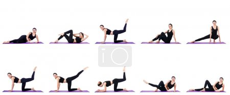 Photo for Concept of healthy lifestyle in set - Royalty Free Image