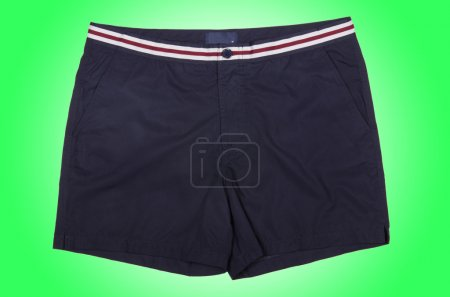 Male shorts  on green