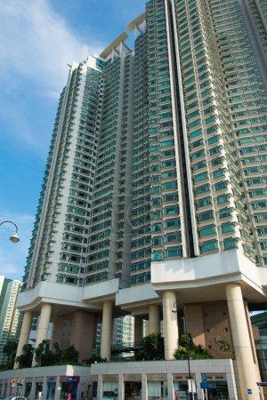 Hign density residential building in Hong Kong...