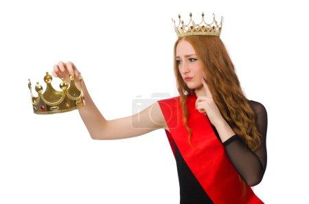 Gewinnerin eines Schönheitswettbewerbs