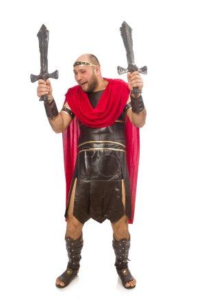 Strong gladiator man