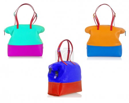Set of woman bags