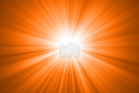 Ornage sun