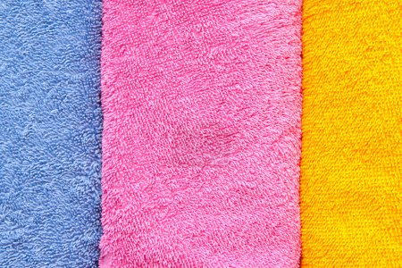 Photo for Color convolute towels - Royalty Free Image